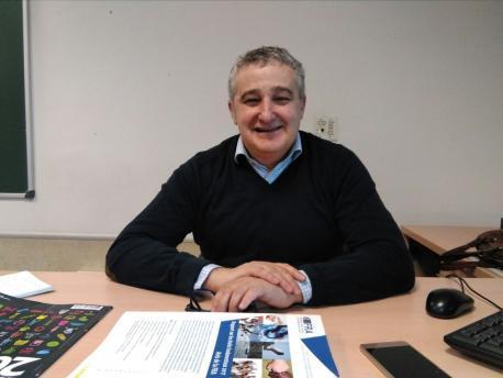 Javier Esguevillas, profesor de Derecho Internacional y C. Políticas de la URJC. Autor: Pablo Rubio.