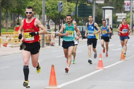 Media Maratón, corredores, carrera, Coslada