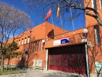 Imagen del exterior del instituto I.E.S Villablanca del distrito de Vicálvaro