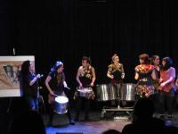 Tabarilea sobre el escenario. Autor: David Martínez.