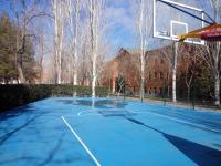 Cancha de baloncesto del campus de Vicálvaro