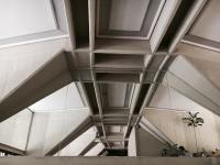 El interior d uno de los edificios. Por Cristina López