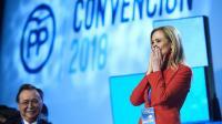 Cristina Cifuentes en la Convención Nacional del PP. AITOR ALCALDE (GETTY). VÍDEO: EPV