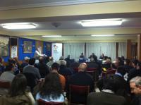 Presentación de Sociedad Civil y Democracia en Alcorcón